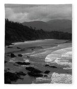 Pacific Ocean Moody Scenic Fleece Blanket