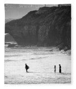 Pacific Ocean Scruz Fleece Blanket