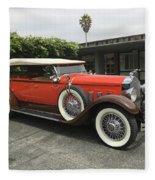 Packard Fleece Blanket