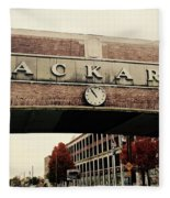 Packard Plant Fleece Blanket
