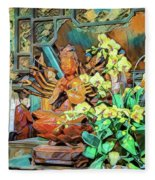 Pagoda Altar Fleece Blanket