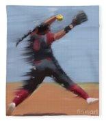 Paige Parker Ou Fleece Blanket