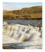 Paine River Waterfall Fleece Blanket
