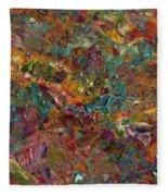 Paint Number 16 Fleece Blanket
