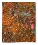 Paint Number 19 Fleece Blanket
