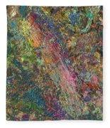Paint Number 27 Fleece Blanket