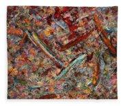 Paint Number 30 Fleece Blanket