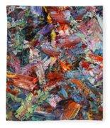 Paint Number 42-a Fleece Blanket