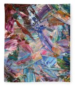 Paint Number 42-b Fleece Blanket