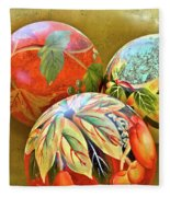 Painted Balls Fleece Blanket