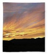 Painted Beautiful Fleece Blanket