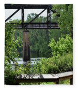 Painted Congaree Four Fleece Blanket