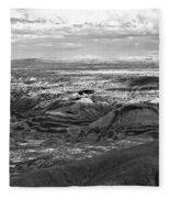 Painted Desert #2 Fleece Blanket