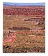 Painted Desert #3 Fleece Blanket