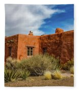 Painted Desert Inn Fleece Blanket