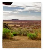 Painted Desert Vista Fleece Blanket