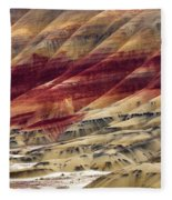 Painted Hills Contour Fleece Blanket