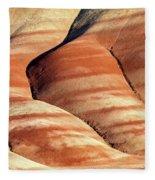 Painted Hills Stripes Fleece Blanket