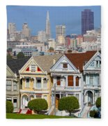 Painted Ladies Fleece Blanket
