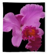Painted Orchid Fleece Blanket