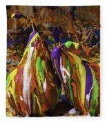 Painted Pears Fleece Blanket