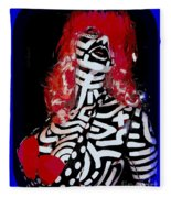 Painted Penny Fleece Blanket