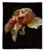 Painted Roses Fleece Blanket