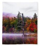 Painted Trees Fleece Blanket