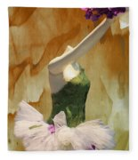 Painting A Ballet Dream Fleece Blanket