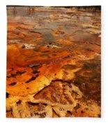 Painting Of Nature Fleece Blanket