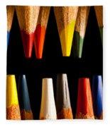 Painting Pencils Fleece Blanket