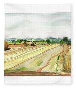 Paizay-le-tort, Au Sud Des Deux-sevres Fleece Blanket