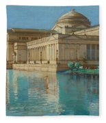 Palace Of Fine Arts Fleece Blanket