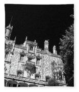 Palace Of Regaleira Fleece Blanket