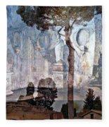 Palatine Hill Fleece Blanket