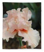 Pale Iris Fleece Blanket