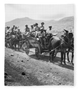 Palestine Colonists, 1920 Fleece Blanket