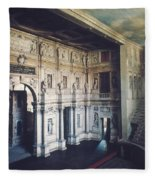 Palladio: Teatro Olimpico Fleece Blanket