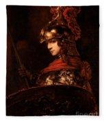 Pallas Athena  Fleece Blanket