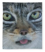 Pallas Cat Fleece Blanket