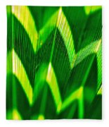 Palm Abstract Fleece Blanket