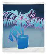 Palm Fleece Blanket
