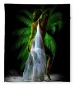Palm Falls Fleece Blanket