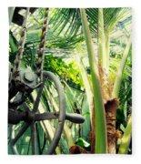 Palm House Pulley Fleece Blanket
