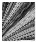 Palm Leaf Texture Fleece Blanket