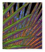 Palm Meanings Fleece Blanket