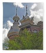 Palm Of The Dome Fleece Blanket