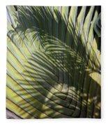 Palm On Palm Fleece Blanket