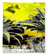 Palm Paradise   Fleece Blanket
