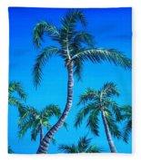 Palm Tops Fleece Blanket